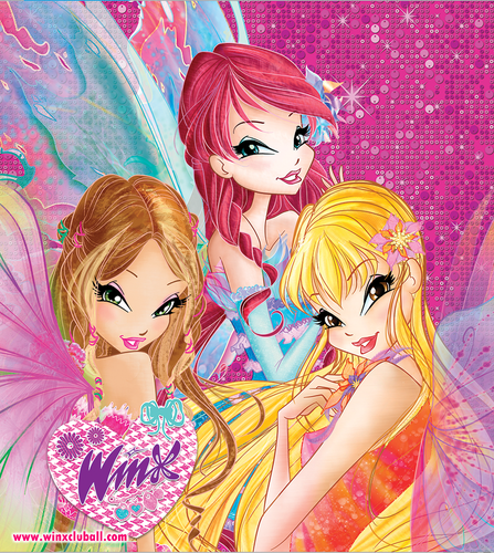 the winx club wallpaper with anime called Winx Club Mythix