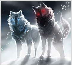 chó sói, sói Những người bạn