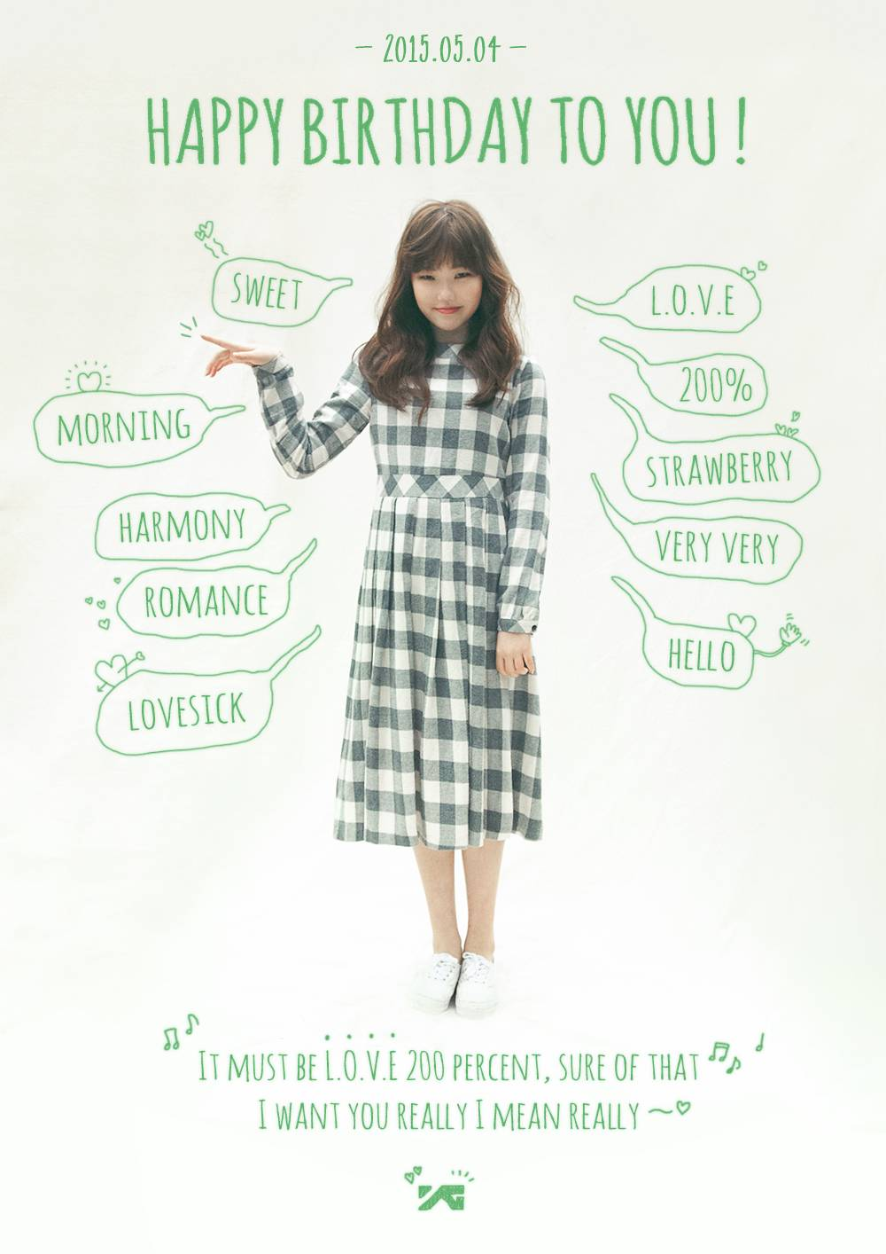 YG Entertainment Images Sends Birthday Greetings To Akdong Musicians Suhyun HD Wallpaper And Background Photos