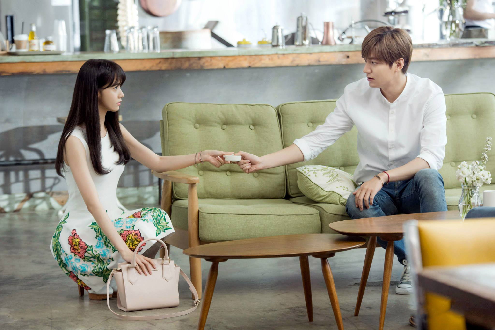 Yoona and Lee Min Ho for Innisfree