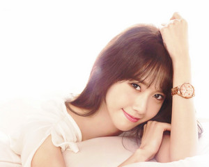 Yoona for Casio Sheen 2015