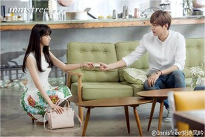 Yoona & Lee MinHo - Innisfree CF Web Drama 'Summer Love' Image প্রিভিউ (1)