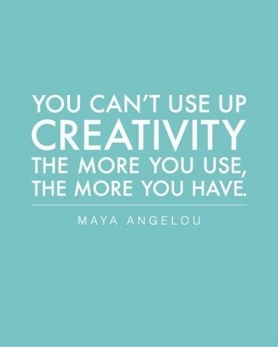 True Writers wallpaper titled You Can't Use up Creativity