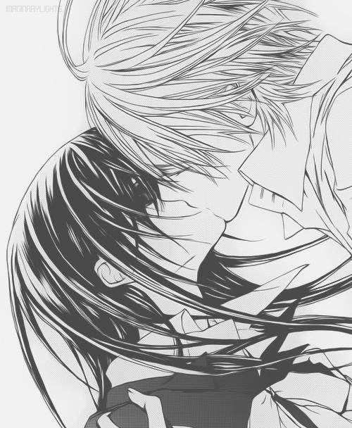 Zeki Kisses And Almost-Kisses - Vampire Knight - Yuki ...