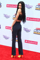 Zendaya on the Radio Disney موسیقی Awards 2015 red carpet