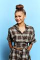 Zendaya's portrait for MTV News