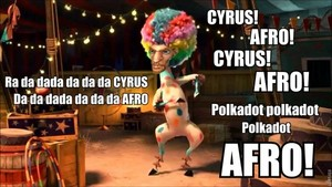 afro cyrus