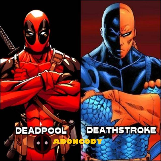 Ninjazxcv12 Images Deadpool And Deathstroke Wallpaper And Background