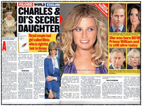 Princess Diana achtergrond containing a newspaper and anime called diana's secret daughter sarah