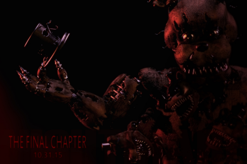 Five Nights at Freddy's (Пять ночей с Фредди) Обои probably with a концерт called final chapter