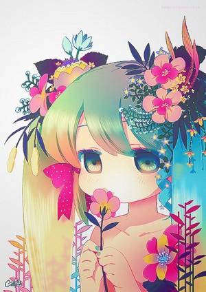 hatsune rainbow..!