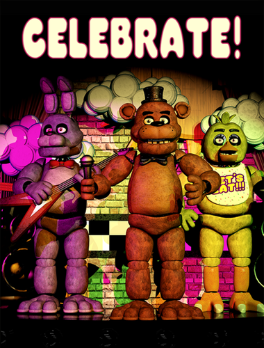 Five Nights at Freddy's kertas dinding containing Anime entitled i want this poster!