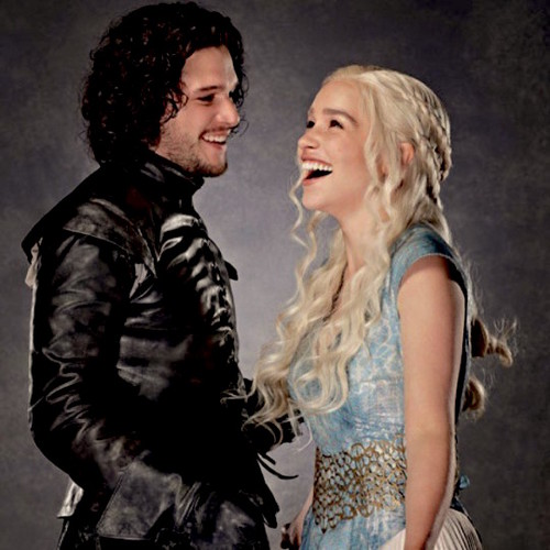Jon & Daenerys wallpaper probably with a hip boot entitled jon and daenerys