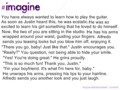 justin imagine - justin-bieber fan art