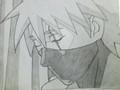 kakashi hatake - drawing photo
