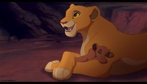 kiara and her cub