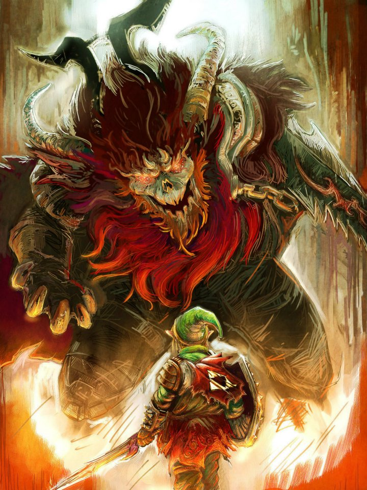 Midna12 Images Link And Ganondorf HD Wallpaper Background Photos