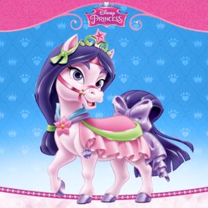 Mulan's pony Lychee