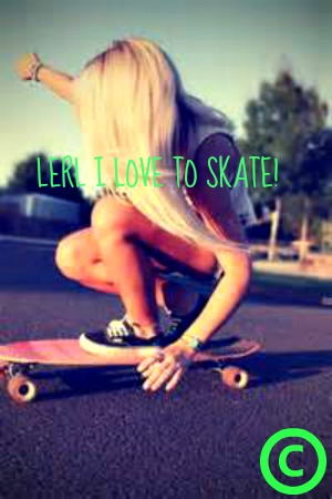 me skating!