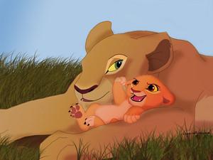 nala and baby kiara