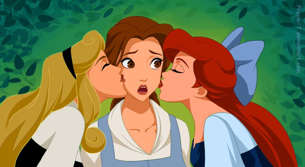 Fan Art - one lucky Belle
