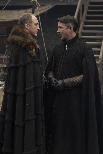 House Stark wallpaper titled roose and petyr