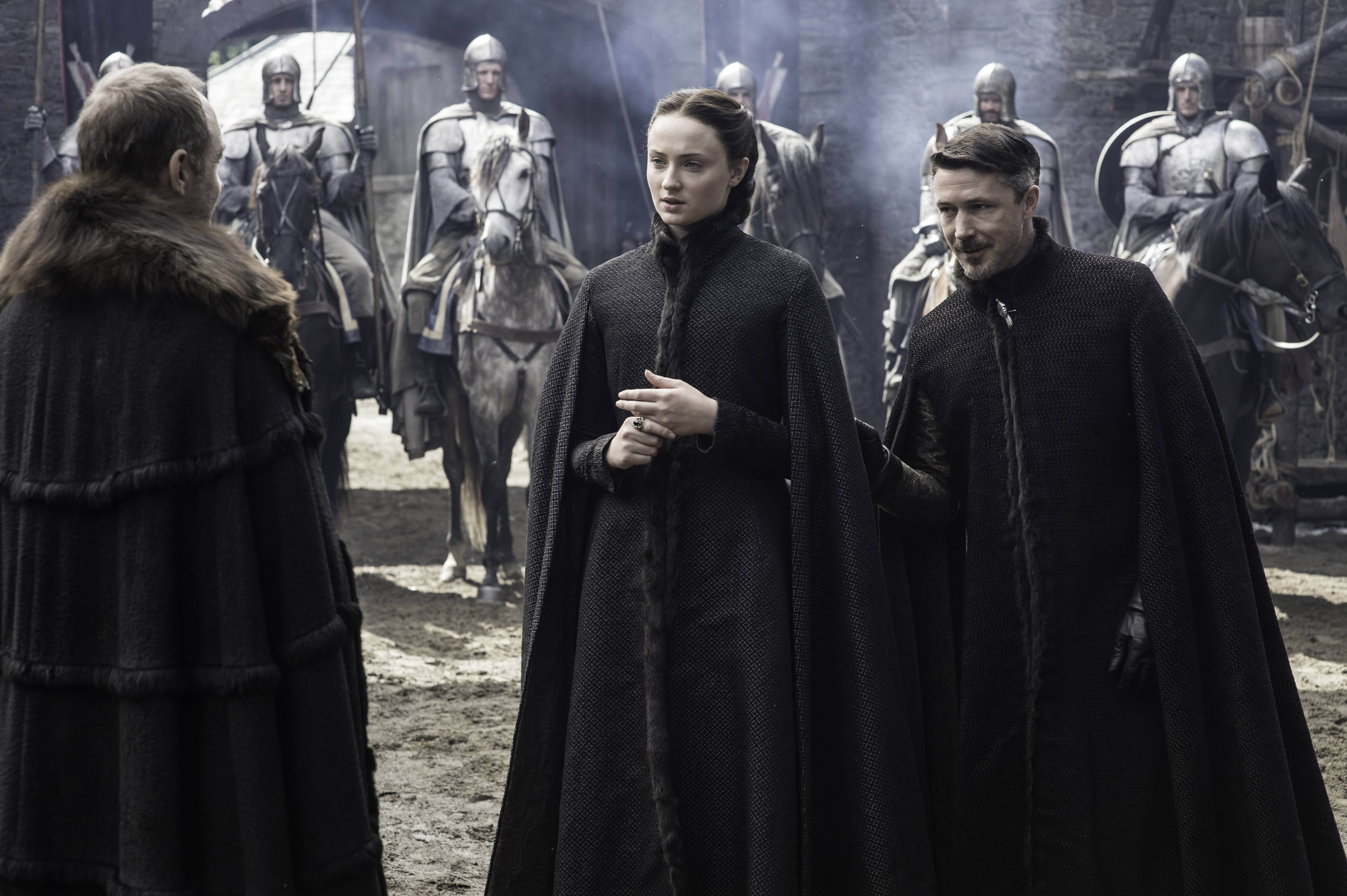 sansa with petyr and roose