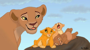 sarafina and the cubs