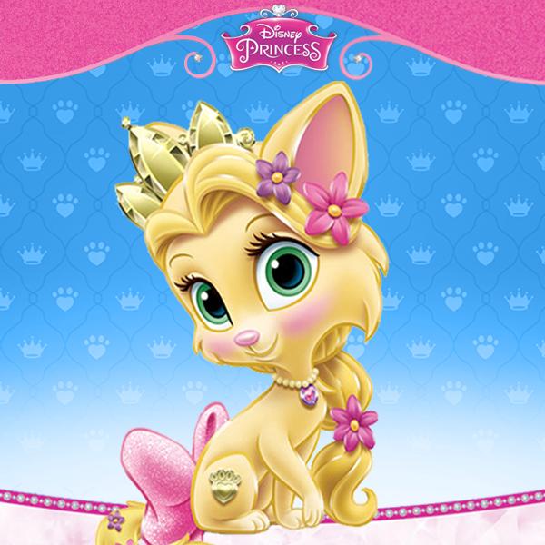 Disney Princess Palace Pets Images Rapunzels Cat Summer Wallpaper And Background Photos