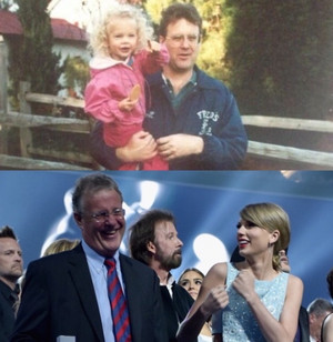 taylor and her father