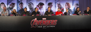 the Avengers: Age of Ultron UK Press Conference
