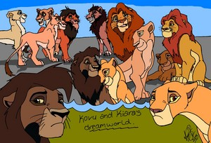 the dream world of kiara and kovu