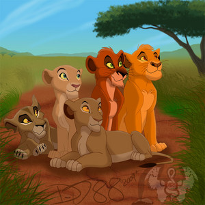 the lion king cubs