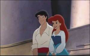 the little mermaid 2 ariel and eric