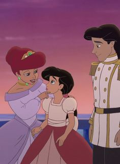 Ariel and Eric वॉलपेपर possibly with a fedora and ऐनीमे titled the royal family