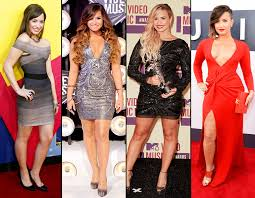 which dress looks best on demi
