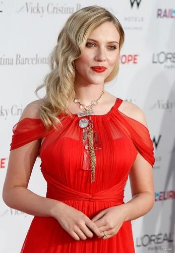Scarlett Johansson wallpaper with a cocktail dress and a dinner dress titled <3 Beautiful Scarlett <3
