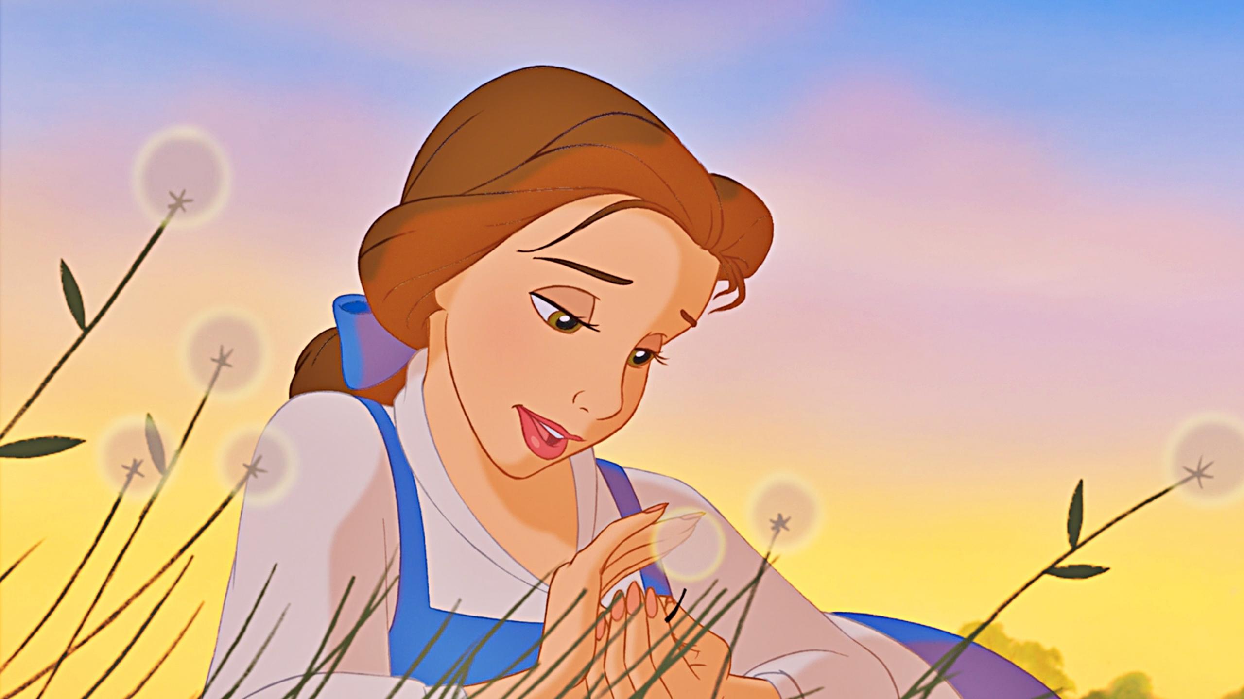 belle - 美女与野兽 壁纸
