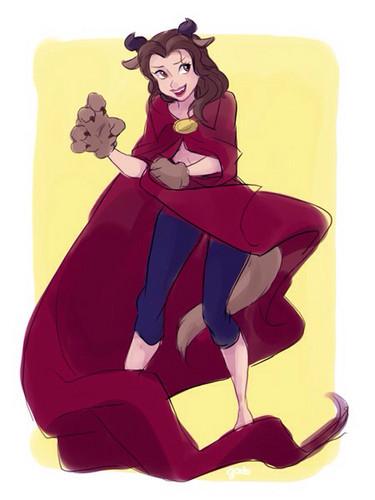 Die Schöne und das Biest Hintergrund probably containing Anime called Belle