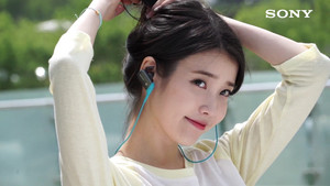 [CAPS] 아이유 for Sony MDR Ad Making