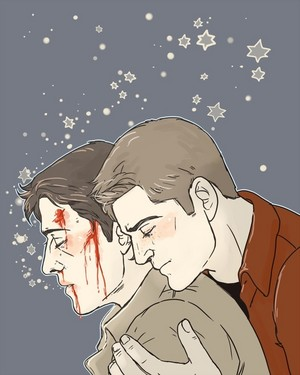 ★ Dean and Castiel ★