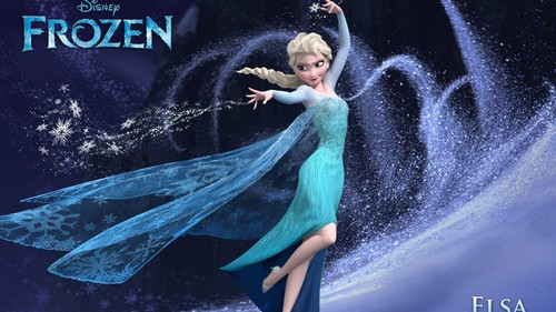 Elsa the Snow クイーン 壁紙 titled アナと雪の女王