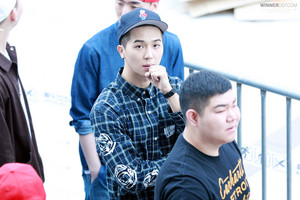 [HQ FANTAKEN] foto : 150510 MINO at SMTM4 audition venue