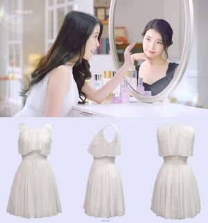 [IUFASHION] IU's white dress in ISOI CF