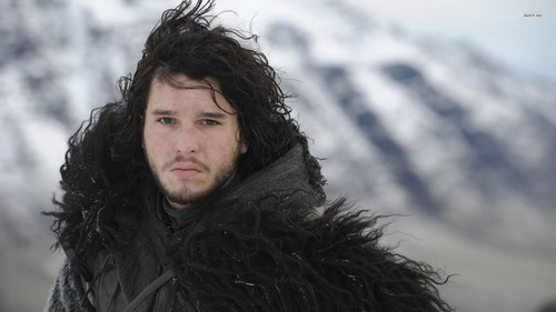 Game of Thrones karatasi la kupamba ukuta entitled Jon Snow