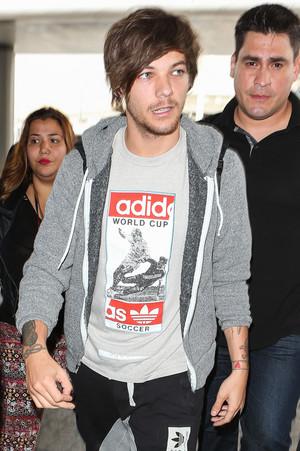 Louis at LAX