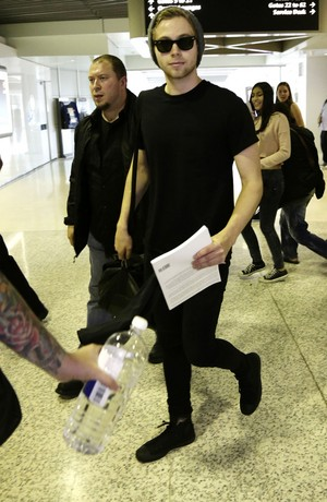 Luke at the Airport