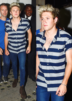 Niall leaving Libertine Club