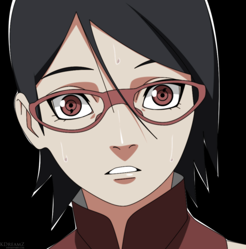 Naruto Shippuuden wallpaper called *Sarada Uchiha's Sharingan*