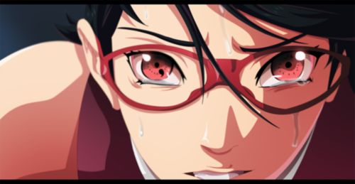 naruto shippuden wallpaper entitled *Sarada Uchiha's Tears